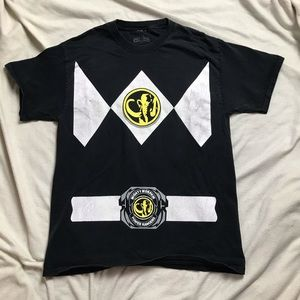 Black Power Rangers T-Shirt M